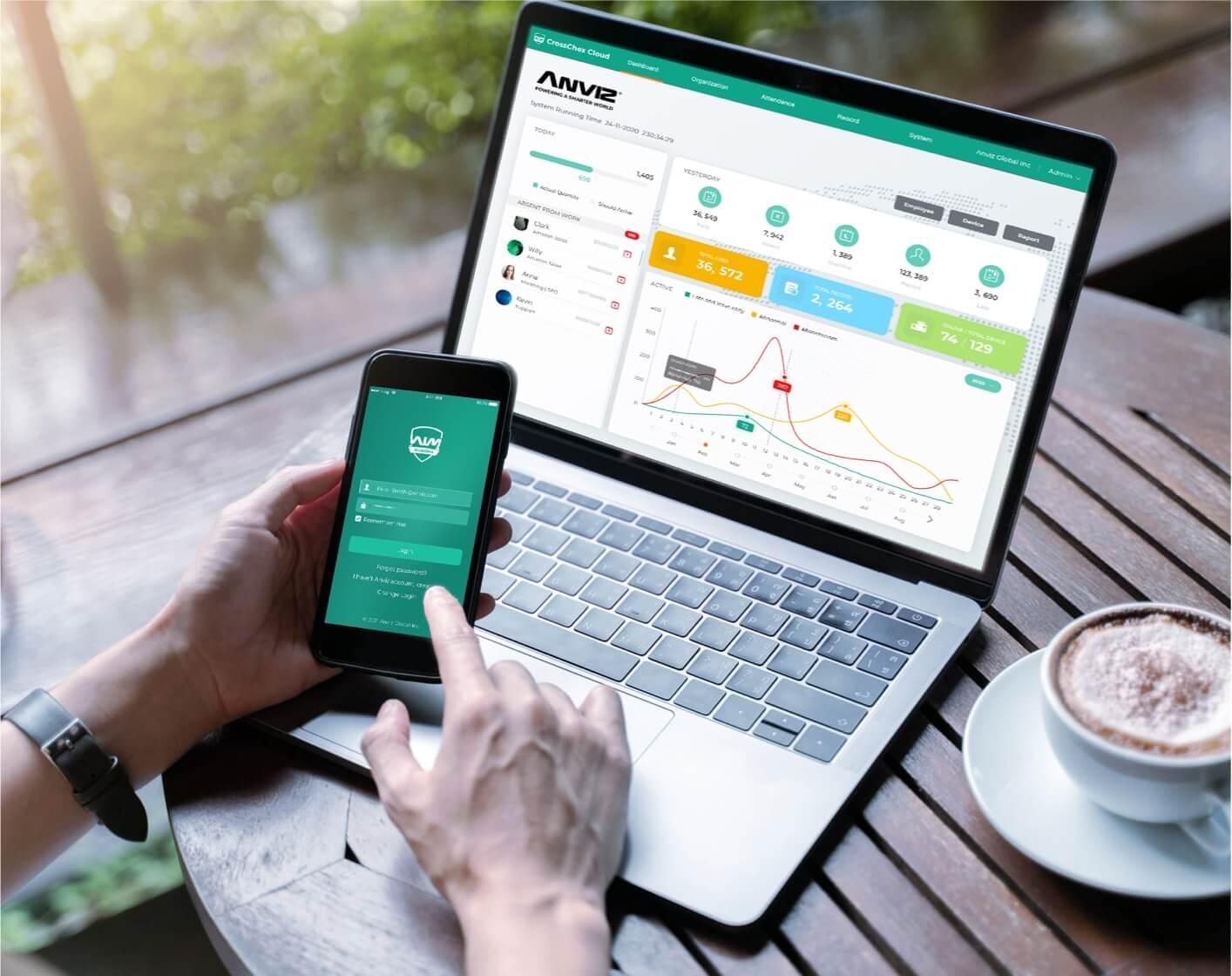 Cloud & Web-based platform for multiple sites' easily & remote management