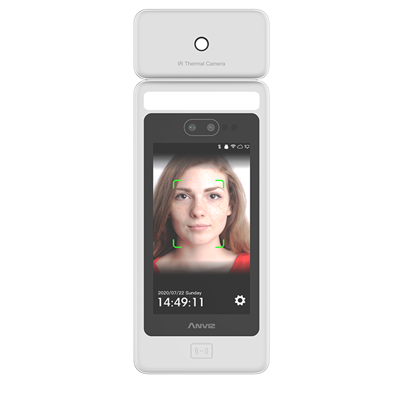 FACEDEEP 5 IRT - Smart Face Recognition Terminal with RFID and Temperature Screening Function