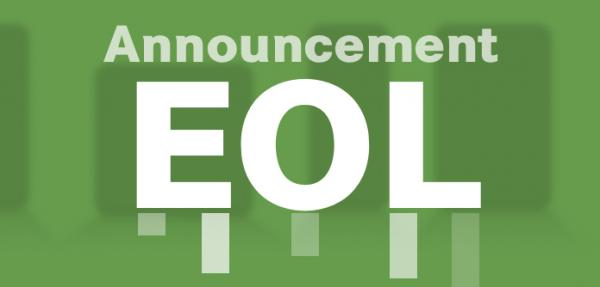 EOL Announcement