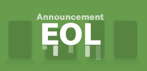 Products EOL Announcement 2020