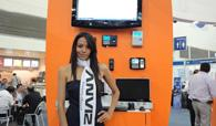 Charming and attractive Anviz products shown on ExpoSeguridad Mexico