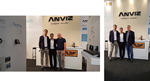 Anviz Fantastic Show at SICUREZZA 2015 With G.Osti